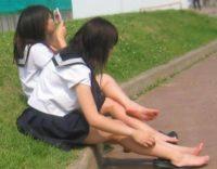【パンチラ画像有】エロいJK女子高生のハラハラドキドキしちゃう画像!エロい脚が大量じゃぁあああwwwwww